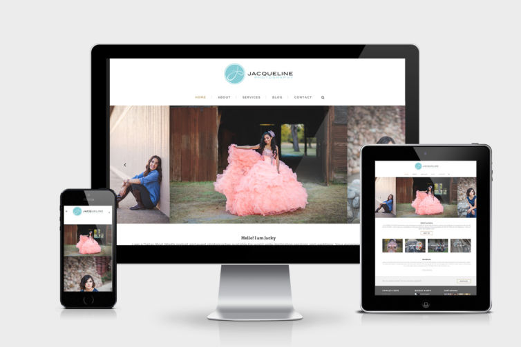 Jacqueline Photography Website